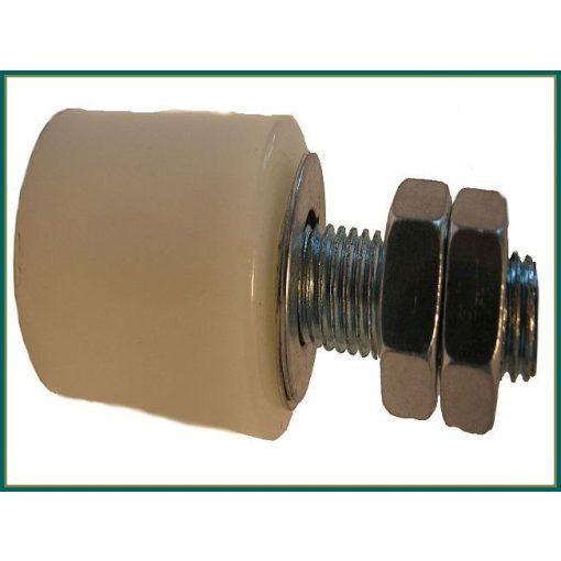 TKTG30X40- tolókapu támasztógörgő 30*40 mm fehér vagy fekete, M12