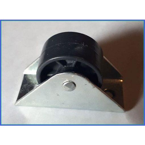 BF-30PA /  fiókgörgő, fekete poliamid görgővel